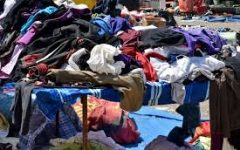 Here is a photo of clothing waste. Every year, almost 11 million tons of clothes are thrown away in the U.S.  Photo from Pixnio.com