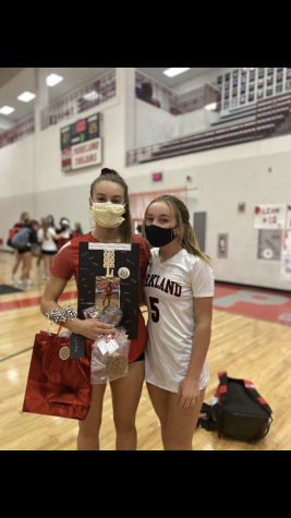 Parkland Girls Volleyball End to the Season and senior night