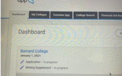 Here is a photo of the Common App website at commonapp.com
