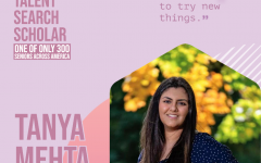Tanya Mehta is one of only 300 people across the United States to Receive this award.