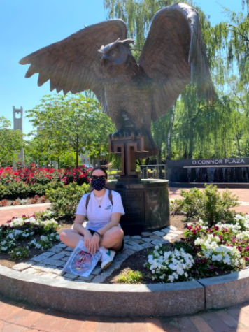 Photo from Staff Writer Gabby Landis, Temple University is one of many schools offering in-person visitation at this time